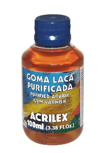 GOMA LACA PURIFICADA 100ML ACRILEX