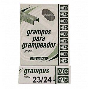 Grampo 23/24 Aco Galvanizado Cx C/1000 Acc