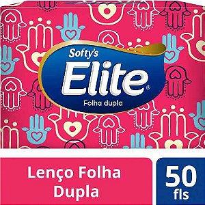 Lencos De Papel Folha Dupla Cx/50 Und Softys Elite