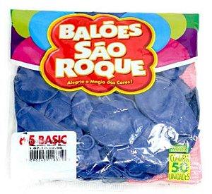 Balao Classic 6.5 Basic C/50 Unidades Azul São Roque