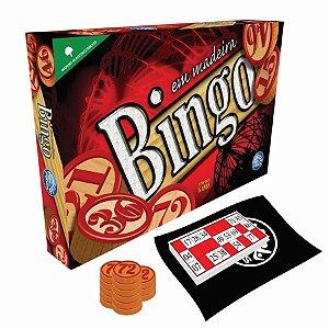 Jogo Bingo Em Madeira Pais&Filhos