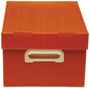 Caixa Organizadora The Best Box M Novaonda Vermelha Polibras