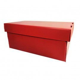 Caixa Organizadora Mini Polionda Vermelha Polibras