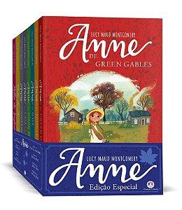 Box Anne De Green Gables 8 Volumes + Diário De Aventuras Ciranda Cultural