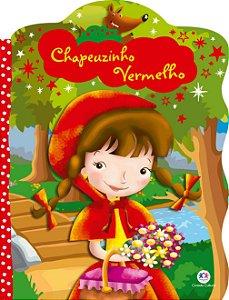 Livro Recortado Com Glitter Chapeuzinho Vermelho Ciranda Cultural