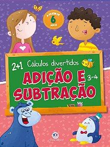 LIVRO ADICAO E SUBTRACAO CIRANDA CULTURAL