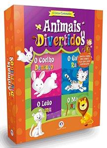 MINIBOX ANIMAIS DIVERTIDOS 6 MINILIVROS CIRANDA CULTURAL