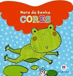 Livro Banho Cores Ciranda Cultural