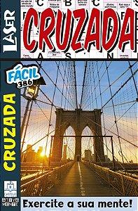 Revista Palavras Cruzadas Laser 386 Facil/Caça Palavras 252 Dificil Ciranda Cultural