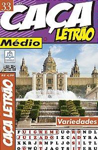 Revista Caca Palavras Letrao 33 Medio Ciranda Cultural