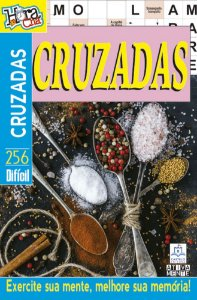Revista Palavras Cruzadas Hora Do Cha 256 Dificil Ciranda Cultural