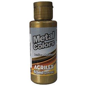 Tinta Metal Colors 60mL Bronze (556) Acrilex