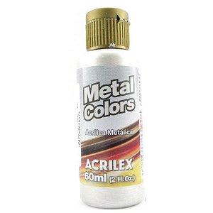 Tinta Metal Colors 60mL Prata (533) Acrilex