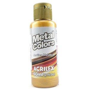 Tinta Metal Colors 60mL Ouro Velho (548) Acrilex