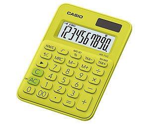 Calculadora De Mesa 10D Ms-7Uc-Yg Verde Casio
