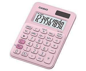 Calculadora De Mesa 10D Ms-7Uc-Pk Rosa Casio