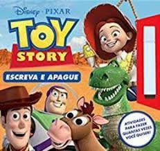 Livro Escreva E Apague Toy Story Rideel
