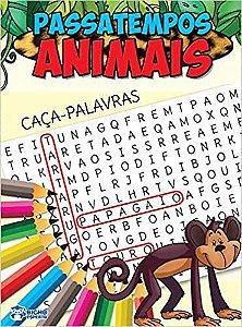 Livro Passatempos Animais Caça-Palavras Bicho Esperto