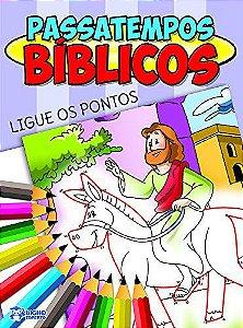Livro Passatempos Biblicos Ligue Os Pontos Bicho Esperto