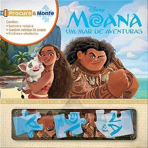 Livro Procure E Monte Moana Rideel