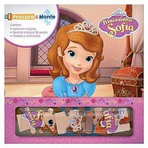 Livro Procure E Monte Princesinha Sofia Rideel