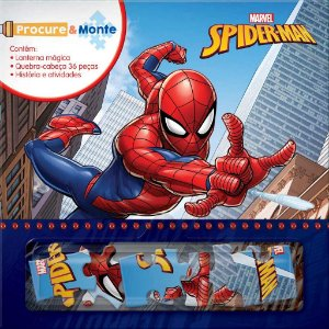 Livro Procure E Monte Spider-Man Rideel