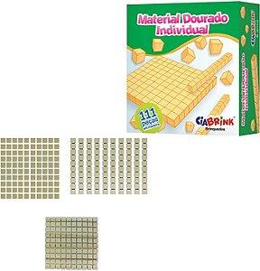 Material Dourado Individual 111 Peças Ciabrink