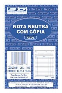 Nota Neutra Com Cópia 1/36 50F São Domingos