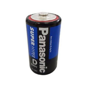 Pilha Grande Super Hyper D Panasonic
