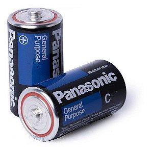 Pilha Media General Purpose C Panasonic