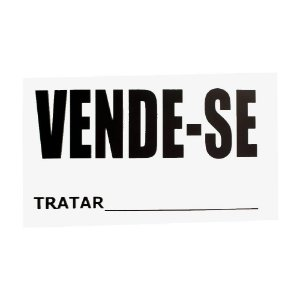 Placa Vende Und Sao Domingos