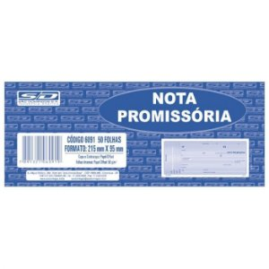 Nota Promissória Grande 50F São Domingos