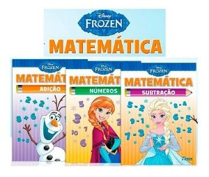 Livro Frozen Matematica Rideel