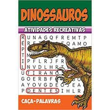 Livro Infantil Atividades Recreativa Dinossauros Rideel