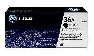 Toner Preto 36A Laserjet Original Hp