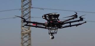 Drone Profissional Para Lançamento de Cabos (torres de alta tensão)