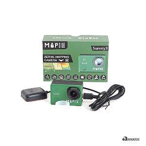 Câmera MultiSpectral Survey 3W (RGN, NDVI)