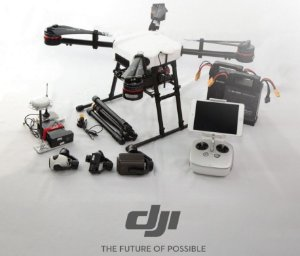 DJI Wind 2 Industrial Quadcopter Drone IP56 Rain and Dust Resistance