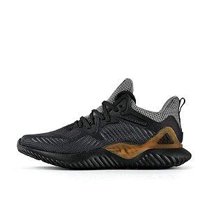Tênis Adidas AlphaBounce - Masculino - Preto e Dourado
