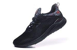 Tênis Adidas AlphaBounce EM - Masculino - Preto