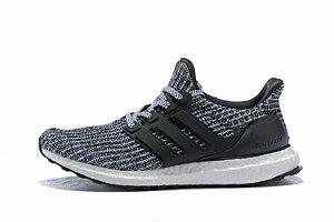 Tênis Adidas Ultraboost 4.0 Masculino - Cinza e Preto
