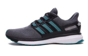Tênis Adidas Energy Boost 3 - Feminino - Cinza/Verde