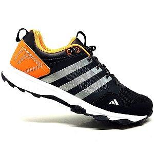 Tênis Adidas Kanadia TR7 Preto e Laranja
