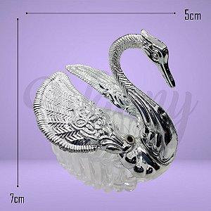 Cisne prata para lembrancinha
