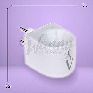 8556 - Difusor Elétrico Branco Porcelana