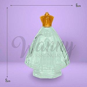 2312 - Frasco Santinha Transparente 45ml