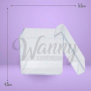 9001 - Caixa Acrílica Quadrada Cristal