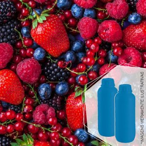 424 - Essência Desinfetante Frutas Vermelhas 1/100