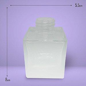 2485 - Vidro Cube Branco Degradê 100ml