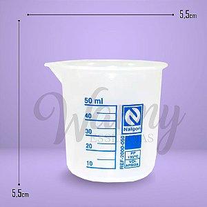 1055 - Copo Becker Plástico 50ml